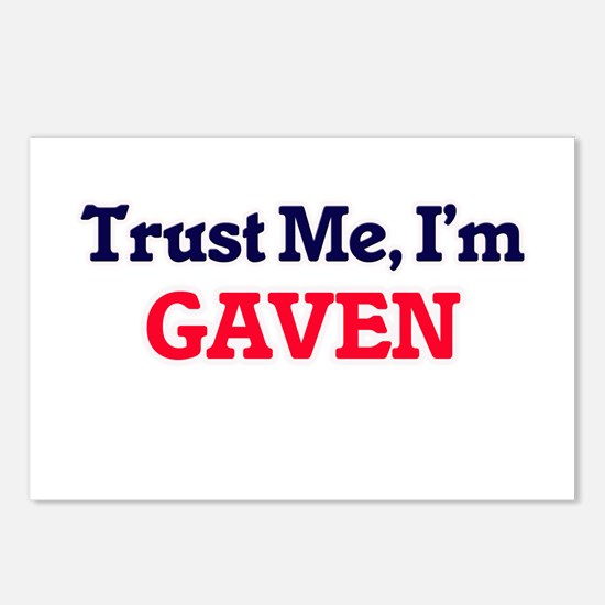 Trust Me, I'm Gaven Postcards (Package of 8)