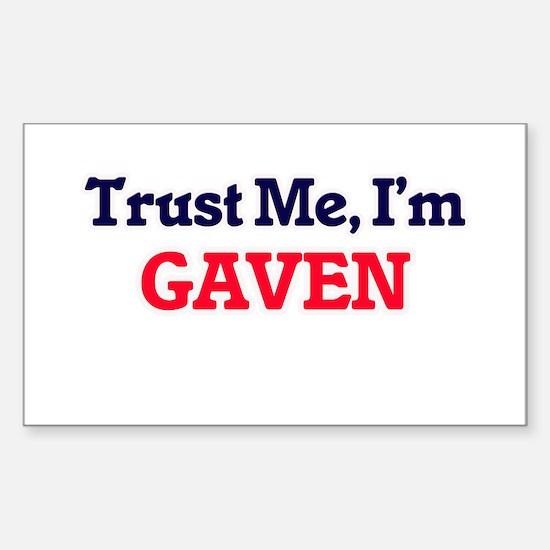 Trust Me, I'm Gaven Decal
