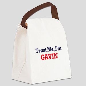 Trust Me, I'm Gavin Canvas Lunch Bag
