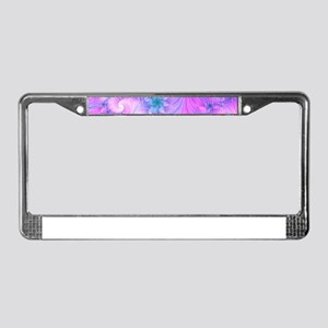 Delicate License Plate Frame