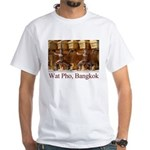 Wat Pho Figures White T-Shirt