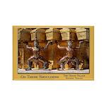 Wat Pho Figures Rectangle Magnet (100 pack)
