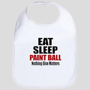 Eat Sleep Paint Ball Bib