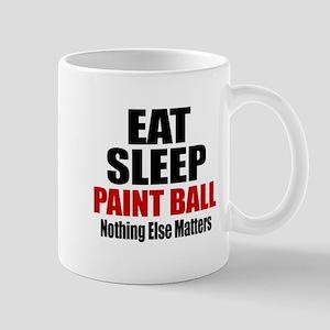 Eat Sleep Paint Ball Mug