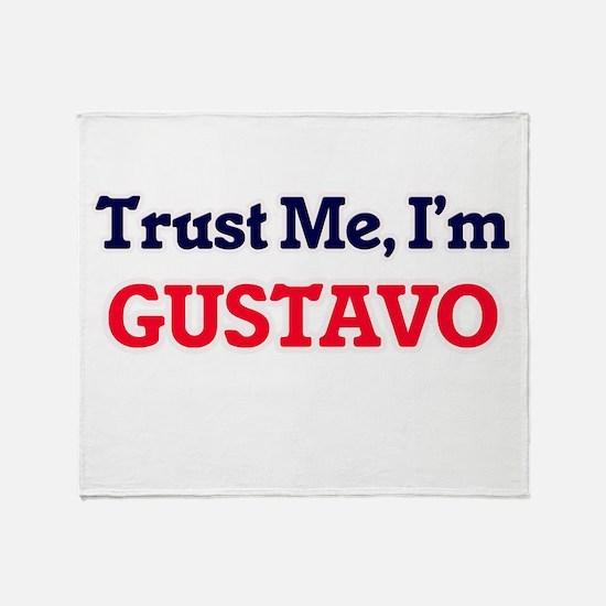Trust Me, I'm Gustavo Throw Blanket