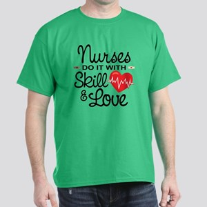 Funny Nurse Dark T-Shirt