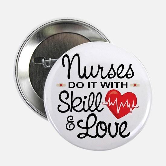 "Funny Nurse 2.25"" Button"