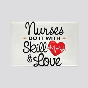 Funny Nurse Rectangle Magnet