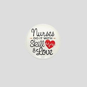 Funny Nurse Mini Button