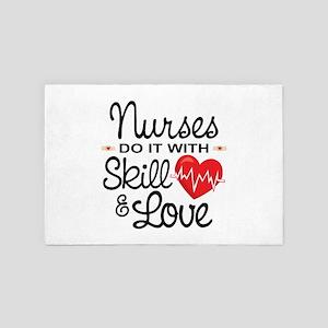 Funny Nurse 4' x 6' Rug
