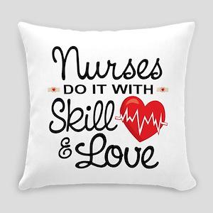 Funny Nurse Everyday Pillow