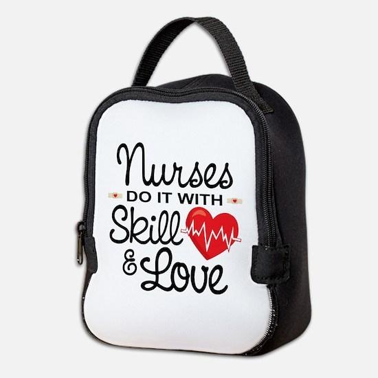 Funny Nurse Neoprene Lunch Bag