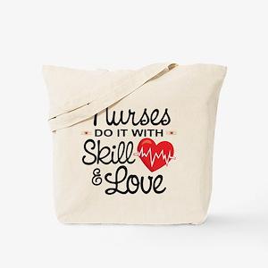 Funny Nurse Tote Bag