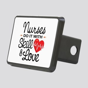 Funny Nurse Rectangular Hitch Cover