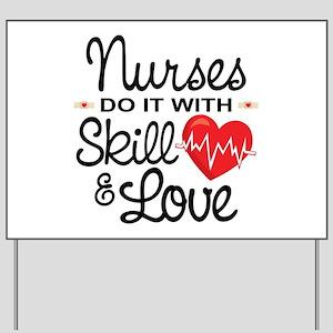 Funny Nurse Yard Sign