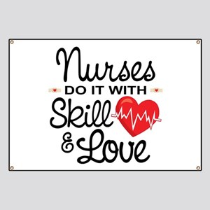 Funny Nurse Banner