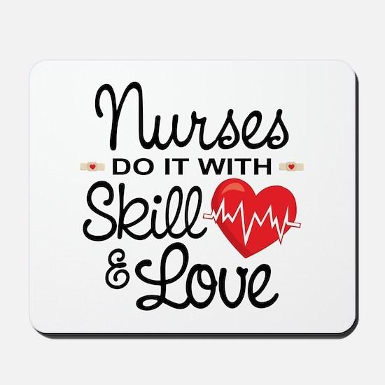 Funny Nurse Mousepad