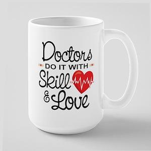 Funny Doctor Large Mug