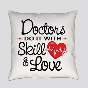Funny Doctor Everyday Pillow