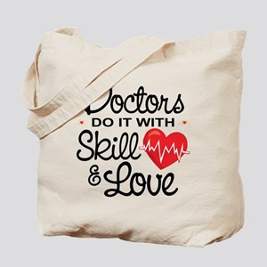 Funny Doctor Tote Bag