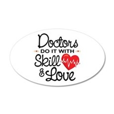 Funny Doctor Wall Decal