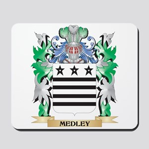 Medley Coat of Arms - Family Crest Mousepad