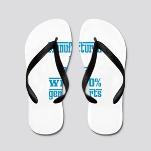 Manufactured in 2008 with 100% Genuine Flip Flops