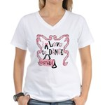 I Love to Dance Women's V-Neck T-Shirt