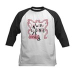 I Love to Dance Kids Baseball Jersey