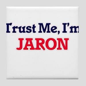 Trust Me, I'm Jaron Tile Coaster