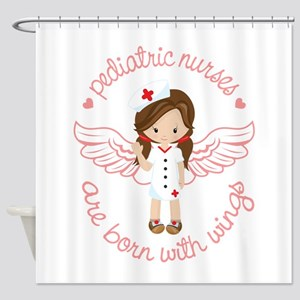 Pediatric Nurse Shower Curtain