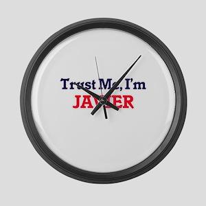 Trust Me, I'm Javier Large Wall Clock