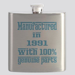 Manufactured in 1991 with 100% Genuine parts Flask