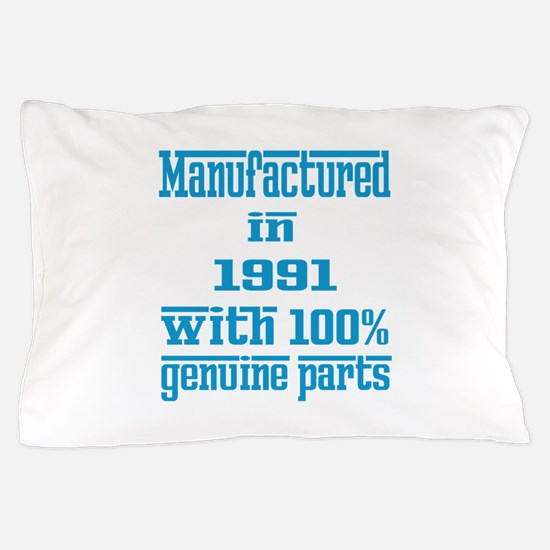 Manufactured in 1991 with 100% Genuine Pillow Case