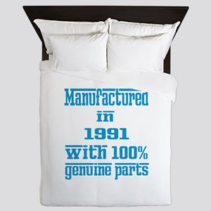 Manufactured in 1991 with 100% Genuine Queen Duvet