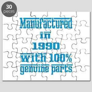 Manufactured in 1990 with 100% Genuine part Puzzle