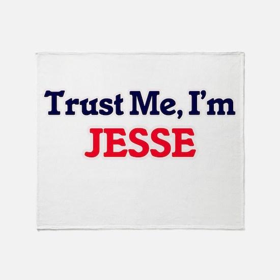 Trust Me, I'm Jesse Throw Blanket