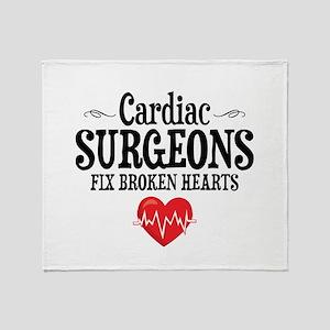 Cardiac Surgeon Throw Blanket