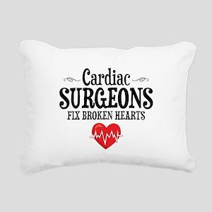 Cardiac Surgeon Rectangular Canvas Pillow