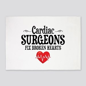 Cardiac Surgeon 5'x7'Area Rug