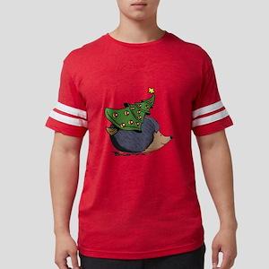 Hedgehog with Christmas Tree T-Shirt