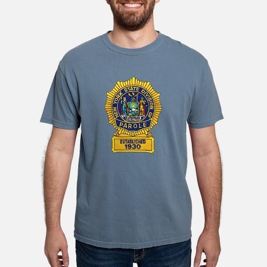 New York Parole Officer White T-Shirt