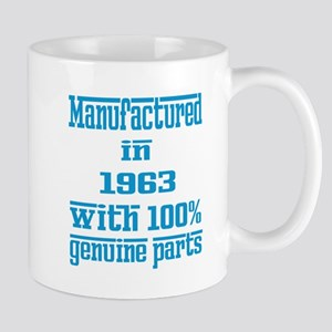 Manufactured in 1963 with 100% Genuine Mug