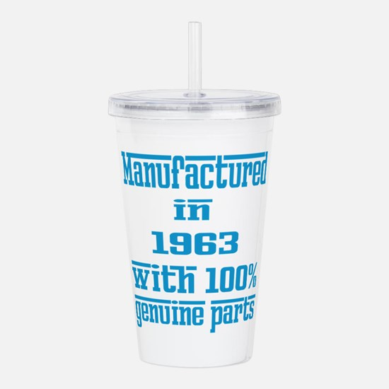Manufactured in 1963 w Acrylic Double-wall Tumbler