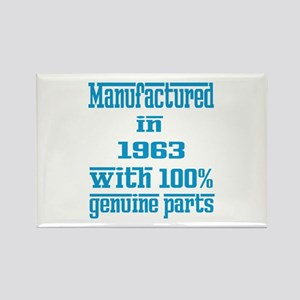 Manufactured in 1963 with 100% Ge Rectangle Magnet