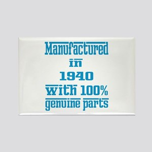 Manufactured in 1940 with 100% Ge Rectangle Magnet