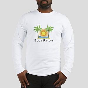 Boca Raton Long Sleeve T-Shirt