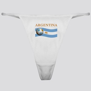 TEAM ARGENTINA SOCCER Classic Thong