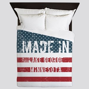 Made in Lake George, Minnesota Queen Duvet