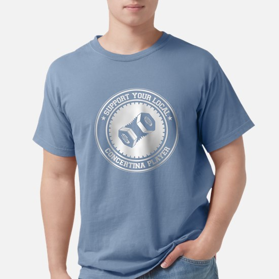 Support Concertina Player Women's Dark T-Shirt